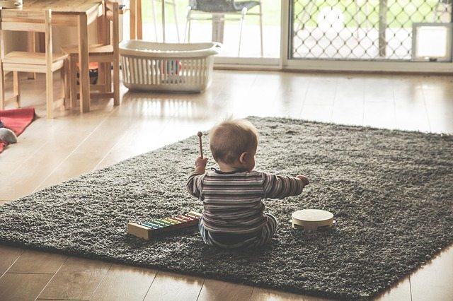 tarimas laminadas uso infantil